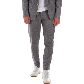 Textil Muži Oblekové kalhoty Sseinse PSE587SS Modrý