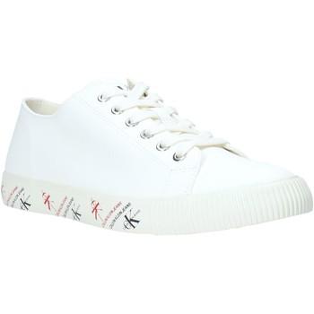 Boty Muži Nízké tenisky Calvin Klein Jeans B4S0668 Bílý