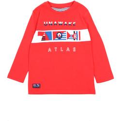 Textil Dívčí Trička s dlouhými rukávy Losan 015-1002AL Červené