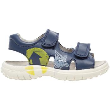 Boty Děti Sandály Naturino 0502735 01 Modrý