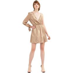 Textil Ženy Krátké šaty Fracomina FR20SP453 Zlato