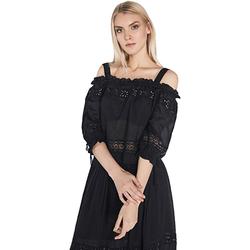 Textil Ženy Halenky / Blůzy Gaudi 811FD45010 Černá