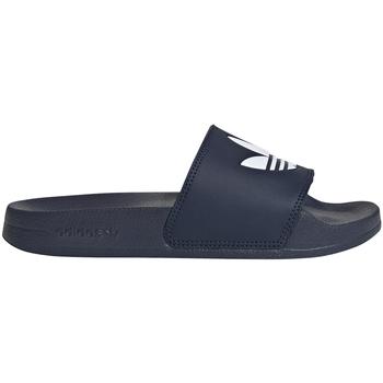 Boty Děti pantofle adidas Originals FU9178 Modrý