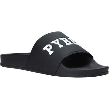 Boty Muži pantofle Pyrex PY020167 Černá