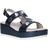 Boty Ženy Sandály Comart 503430PE Modrý