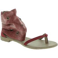 Boty Ženy Sandály 18+ 6111 Červené