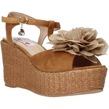 Boty Ženy Sandály Love To Love GIN575 Hnědý