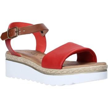 Boty Ženy Sandály Jeiday 1278-9696 Červené