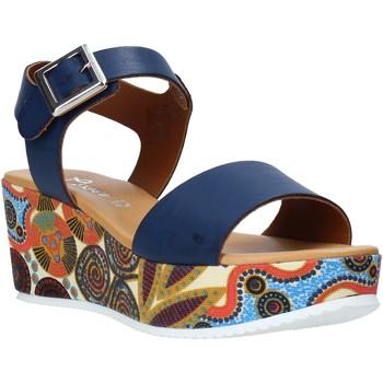 Boty Ženy Sandály Grace Shoes 03 Modrý