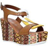 Boty Ženy Sandály Grace Shoes 09 Hnědý