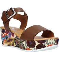 Boty Ženy Sandály Grace Shoes 03 Hnědý