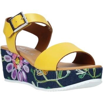 Boty Ženy Sandály Grace Shoes 02 Žlutá