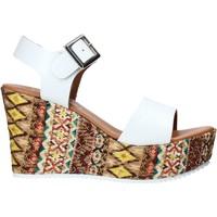 Boty Ženy Sandály Grace Shoes 08 Bílý