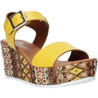 Boty Ženy Sandály Grace Shoes 06 Žlutá