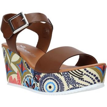 Boty Ženy Sandály Grace Shoes 07 Hnědý