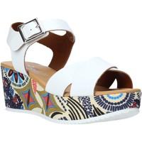 Boty Ženy Sandály Grace Shoes 12 Bílý