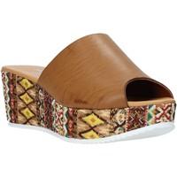 Boty Ženy Dřeváky Grace Shoes 10 Hnědý