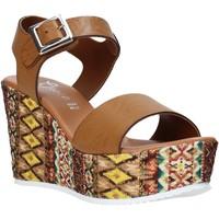 Boty Ženy Sandály Grace Shoes 08 Hnědý