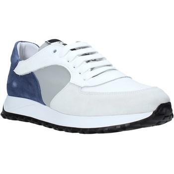 Boty Muži Nízké tenisky Exton 741 Bílý