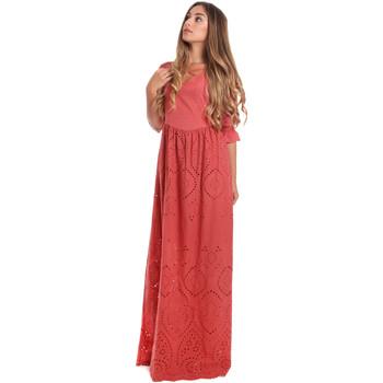 Textil Ženy Společenské šaty Fracomina FR20SM506 Červené