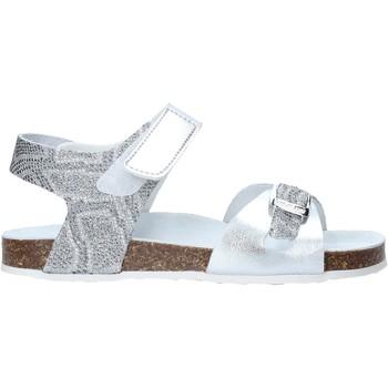 Boty Dívčí Sandály Grunland SB1501 Stříbrný