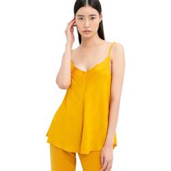 Textil Ženy Halenky / Blůzy Fracomina FR20SM551 Žlutá