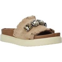 Boty Ženy Dřeváky Bueno Shoes CM2217 Béžový