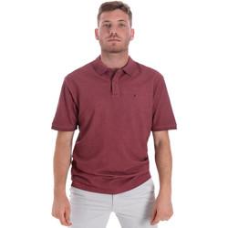 Textil Muži Polo s krátkými rukávy Les Copains 9U9016 Červené