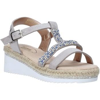 Boty Dívčí Sandály Miss Sixty S20-SMS785 Stříbrný
