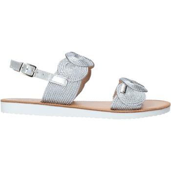 Boty Dívčí Sandály Miss Sixty S20-SMS786 Stříbrný