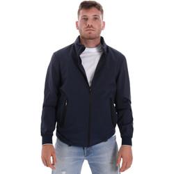 Textil Muži Bundy Les Copains 9UB082 Modrý