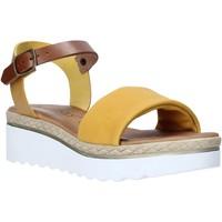 Boty Ženy Sandály Jeiday 1278-9696 Žlutá