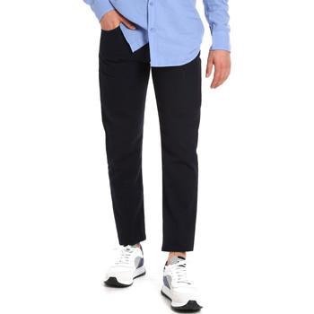 Textil Muži Mrkváče Les Copains 9U3021 Modrý
