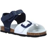 Boty Děti Sandály Grunland SB0027 Modrý