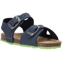 Boty Děti Sandály Grunland SB0413 Modrý