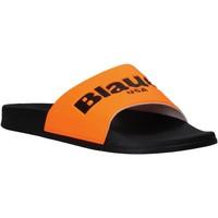 Boty Muži pantofle Blauer S0BAY02/FLU Oranžový
