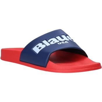 Boty Muži pantofle Blauer S0BAY02/PUC Červené