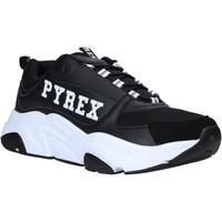 Boty Muži Nízké tenisky Pyrex PY020206 Černá