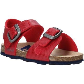 Boty Děti Sandály Grunland SB1534 Červené