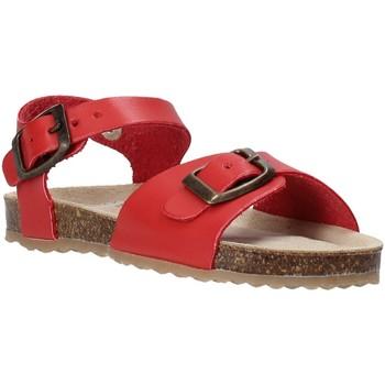 Boty Děti Sandály Grunland SB1551 Červené