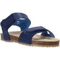 Boty Děti Sandály Grunland SB1550 Modrý