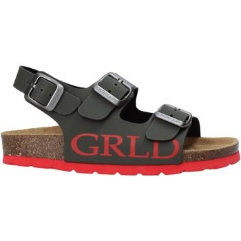 Boty Děti Sandály Grunland SB1516 Zelený