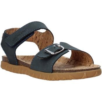 Boty Děti Sandály Grunland SB1565 Modrý