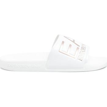 Boty Ženy pantofle Ea7 Emporio Armani XCP001 XCC22 Bílý