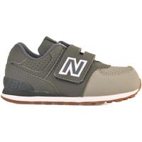 Boty Děti Nízké tenisky New Balance NBIV574BUC Zelený
