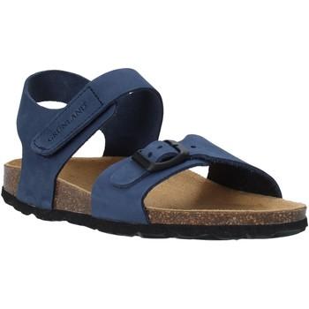 Boty Děti Sandály Grunland SB0236 Modrý
