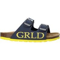 Boty Děti Dřeváky Grunland CB2420 Modrý
