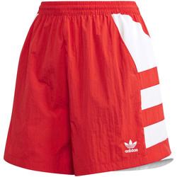 Textil Ženy Kraťasy / Bermudy adidas Originals FM2637 Červené
