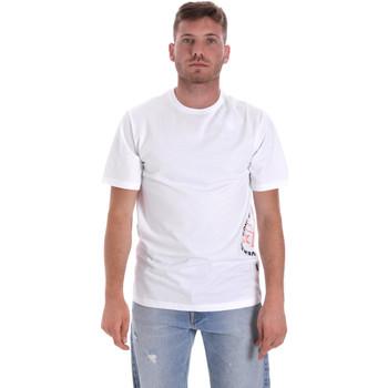 Textil Muži Trička s krátkým rukávem Converse 10018872-A02 Bílý