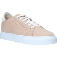 Boty Ženy Nízké tenisky Grunland SC4939 Růžový